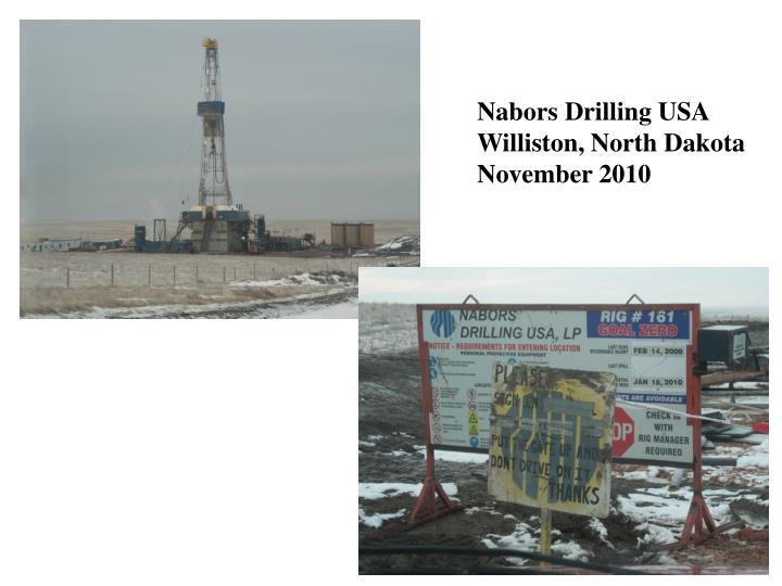 Nabors Drilling USA