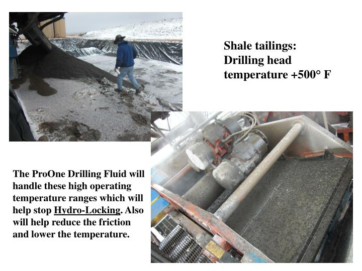 Shale tailings: