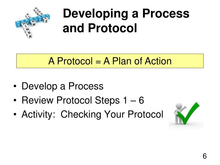 Developing a Process and Protocol