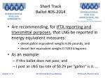 short track ballot 05 20141