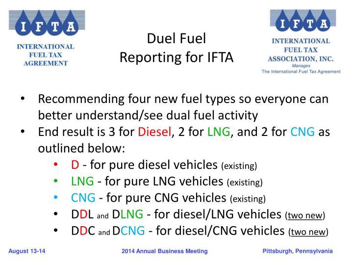 Duel Fuel