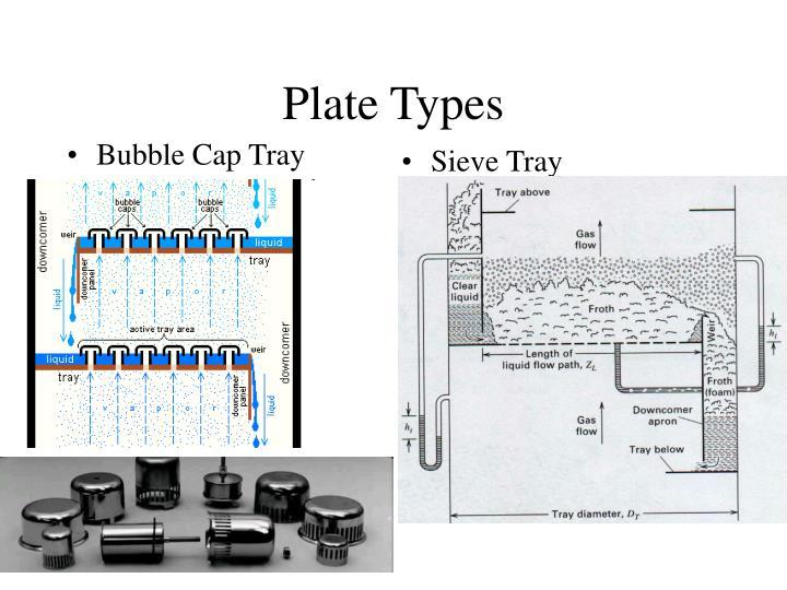 Bubble Cap Tray