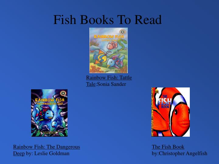 Fish Books To Read