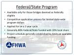 federal state program