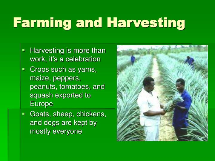 Farming and Harvesting