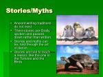 stories myths