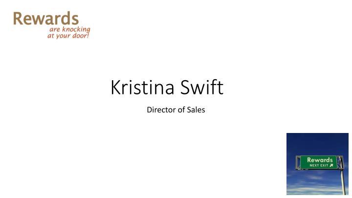 Kristina Swift
