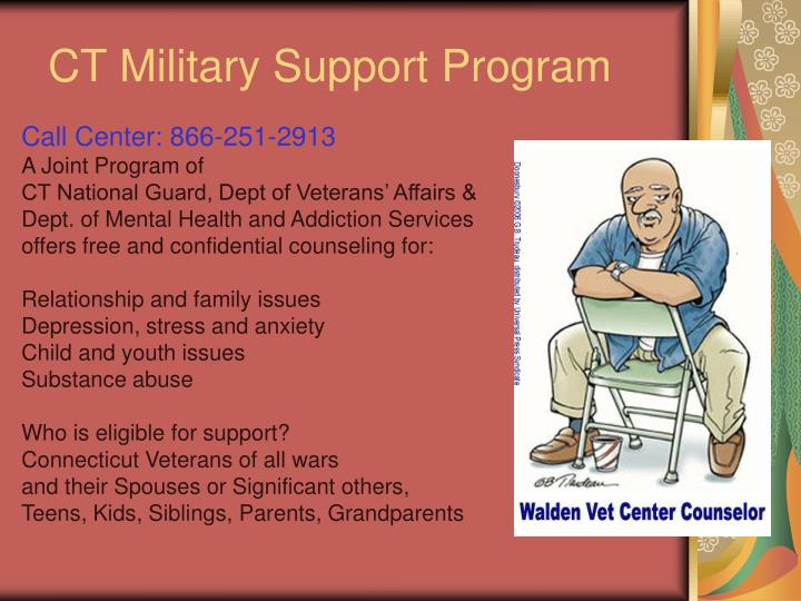 CT Military Support Program