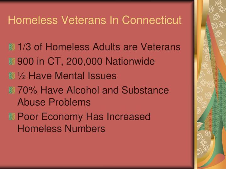 Homeless Veterans In Connecticut