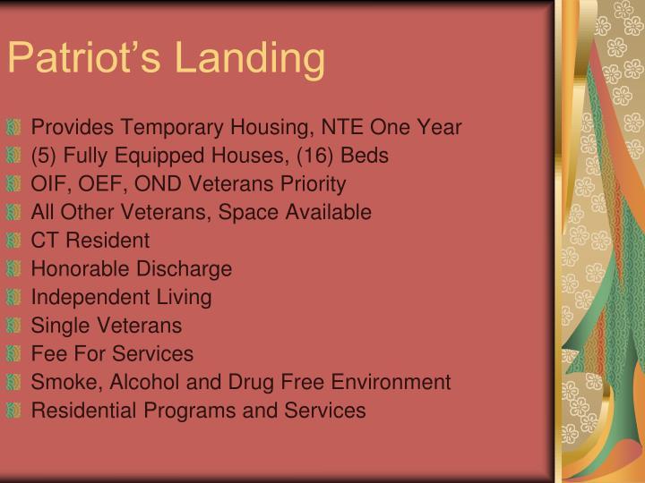 Patriot's Landing