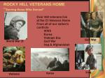 rocky hill veterans home serving those who served