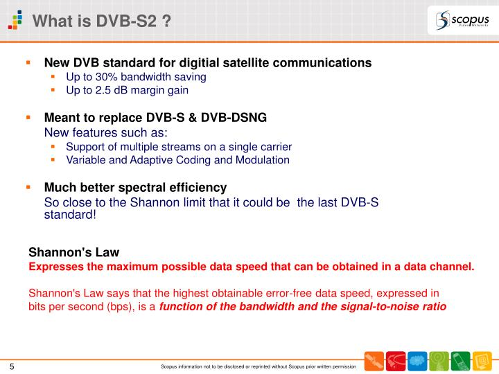 What is DVB-S2 ?