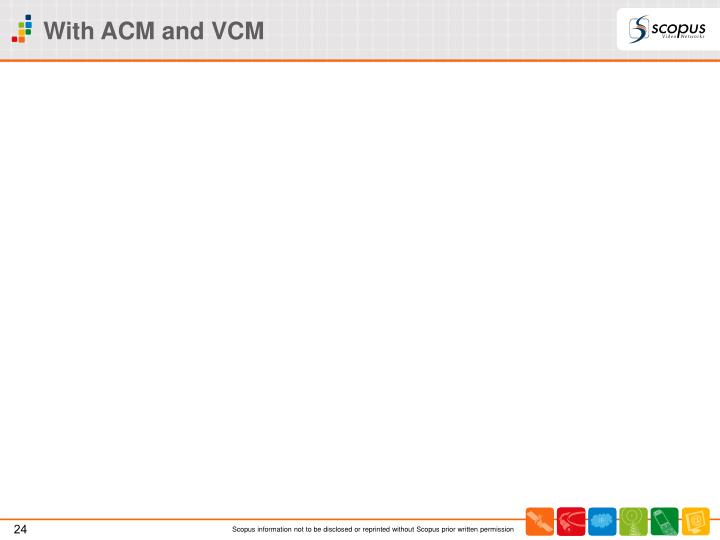 With ACM and VCM