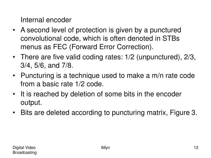 Internal encoder