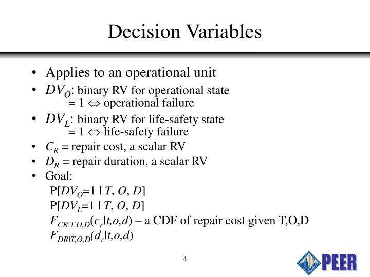 Decision Variables