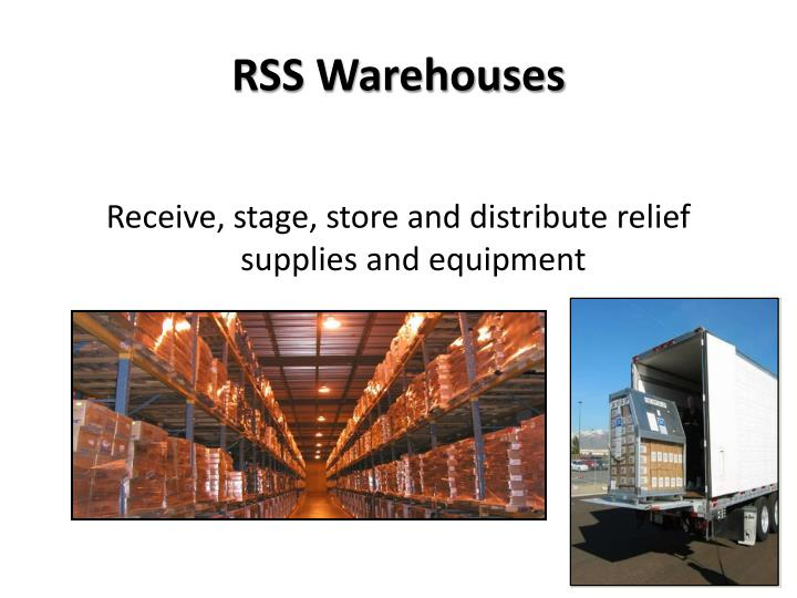 RSS Warehouses