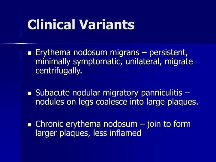 Clinical Variants