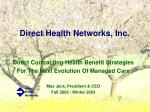 direct health networks inc