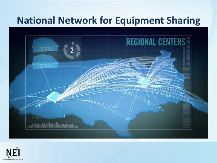 National Network for Equipment Sharing