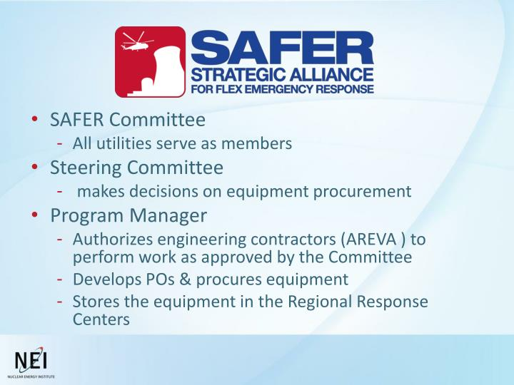 SAFER Committee