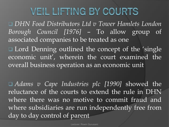 DHN Food Distributors Ltd v Tower Hamlets London Borough Council [1976]