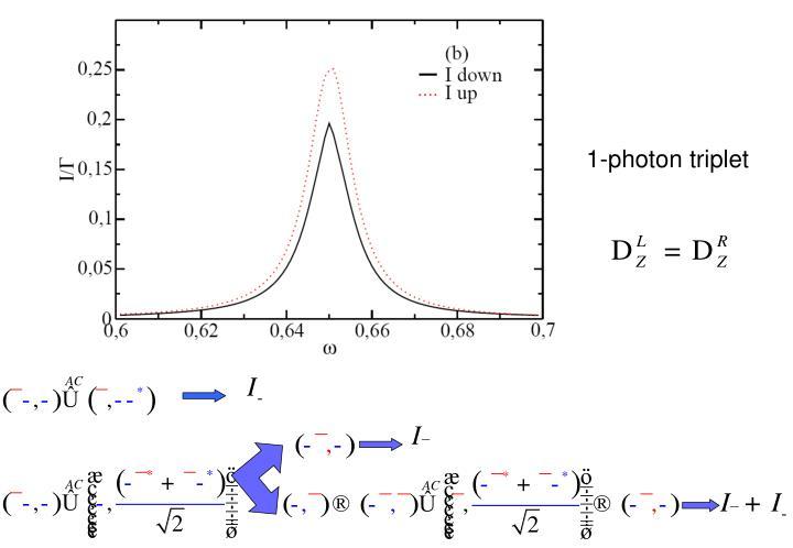 1-photon triplet