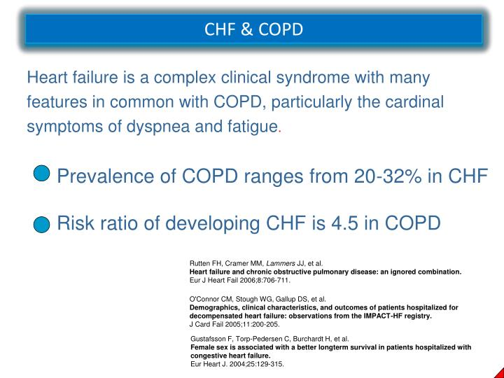 CHF & COPD