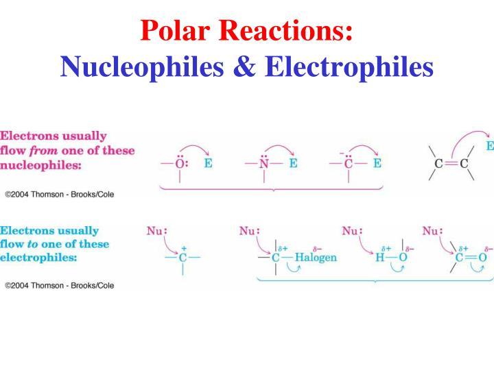 Polar Reactions: