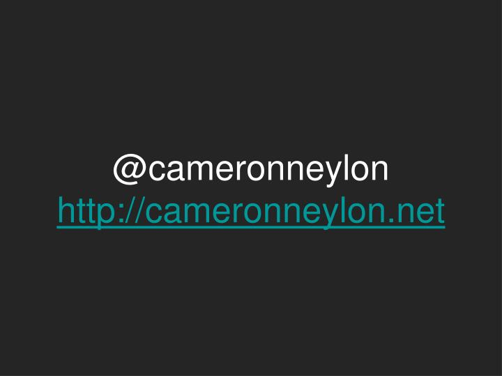 @cameronneylon