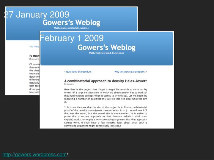February 1 2009