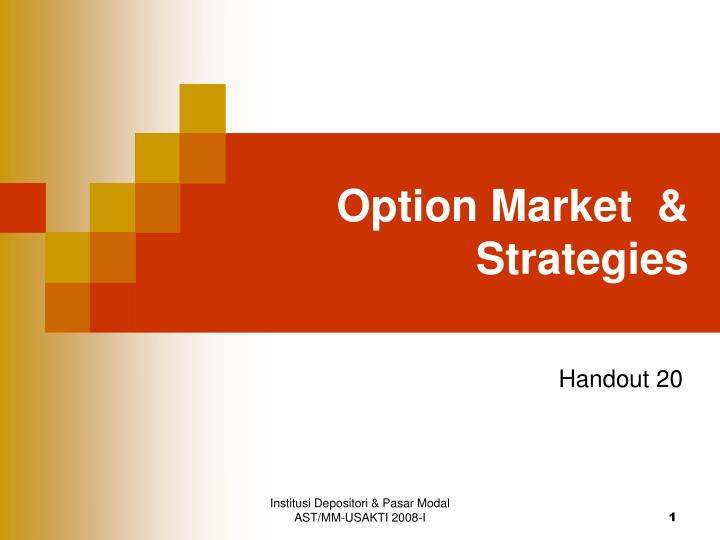 option market strategies
