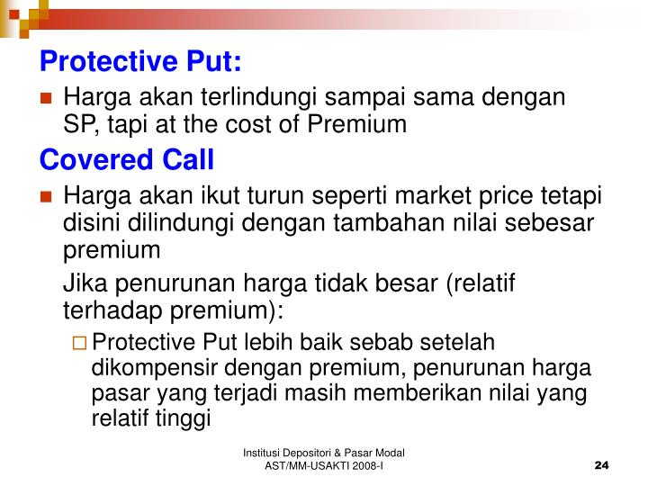 Protective Put: