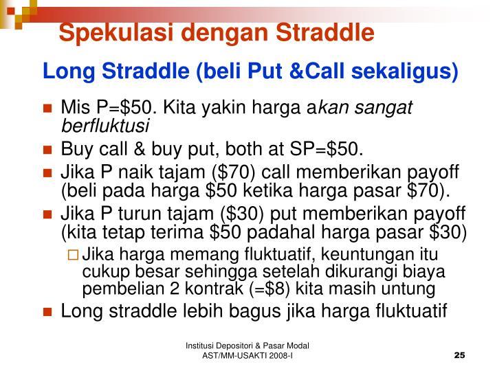 Spekulasi dengan Straddle