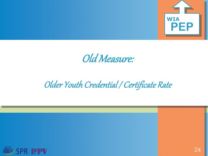 Old Measure: