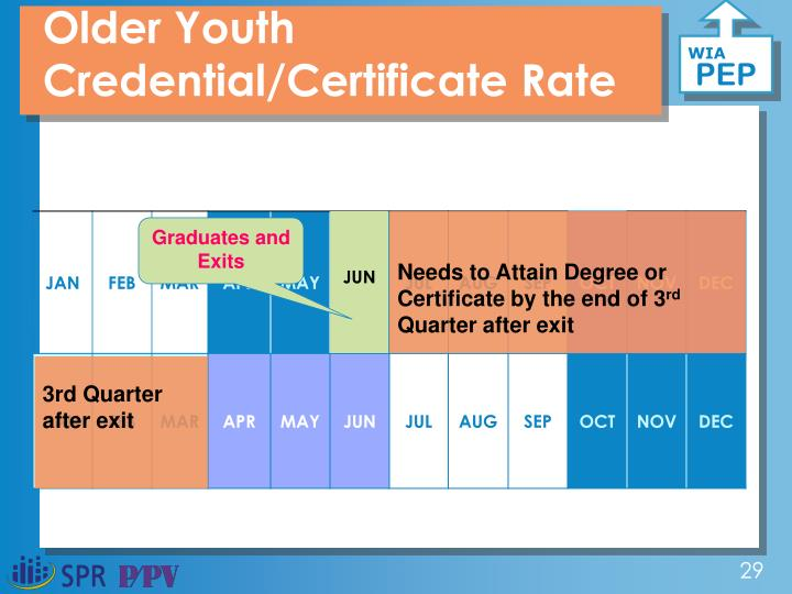 Older Youth Credential/Certificate Rate