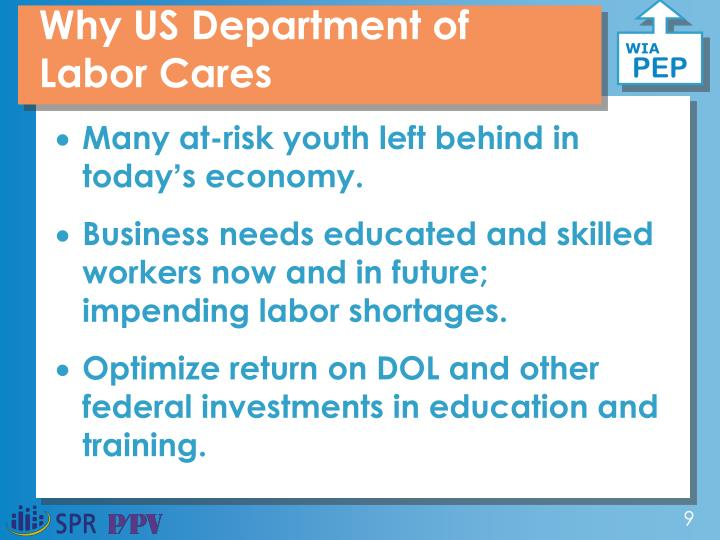 Why US Department of Labor Cares