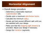 horizontal alignment1