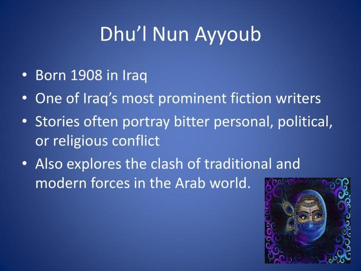 Dhu'l Nun Ayyoub