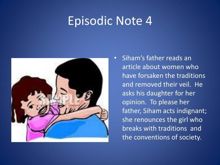 Episodic Note 4