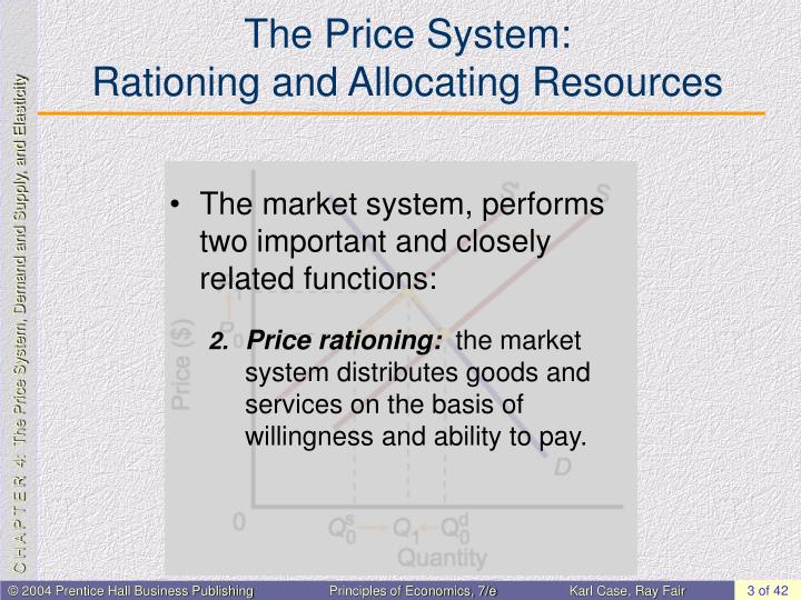 The price system rationing and allocating resources1