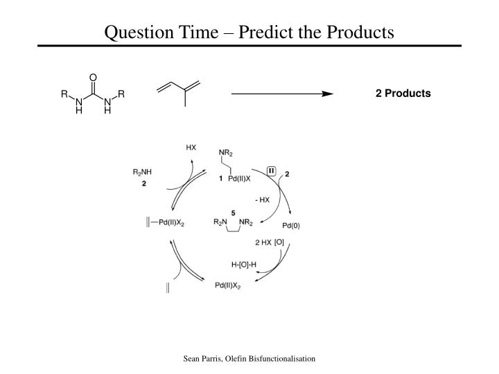 Question Time – Predict the Products