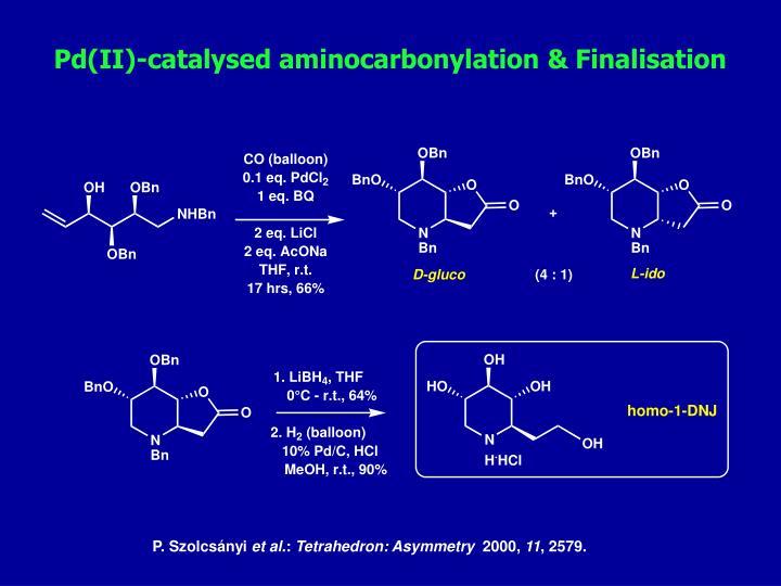 Pd(II)-catalysed