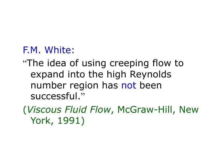 F.M. White