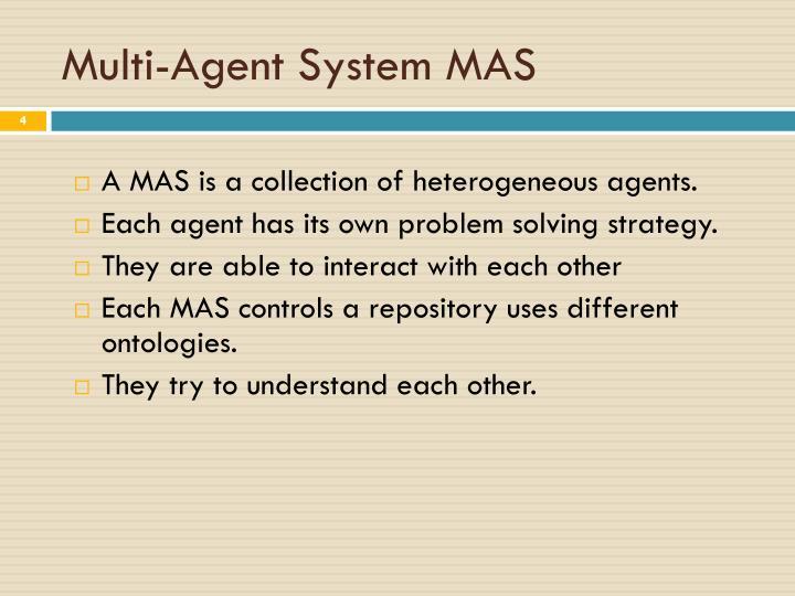 Multi-Agent System MAS