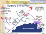 sample siting plan1