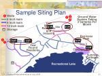 sample siting plan2