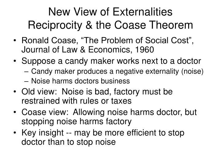New View of Externalities