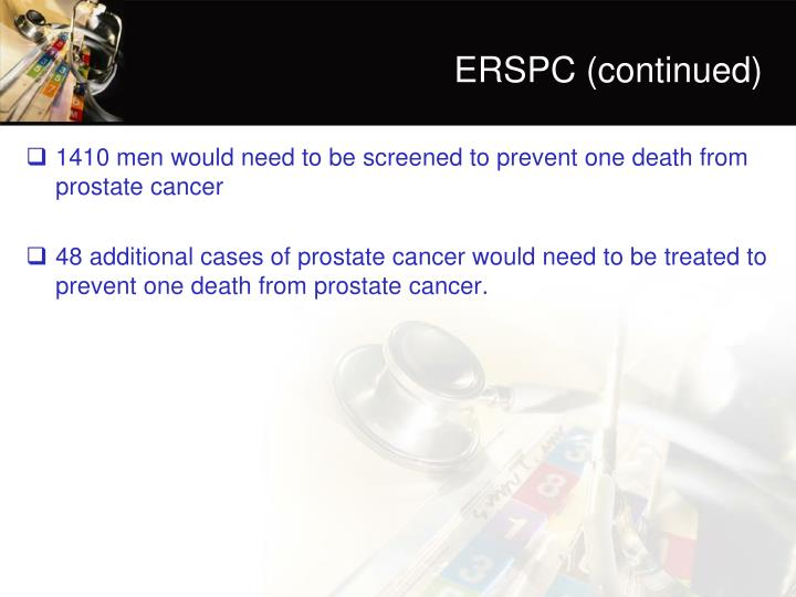 ERSPC (continued)