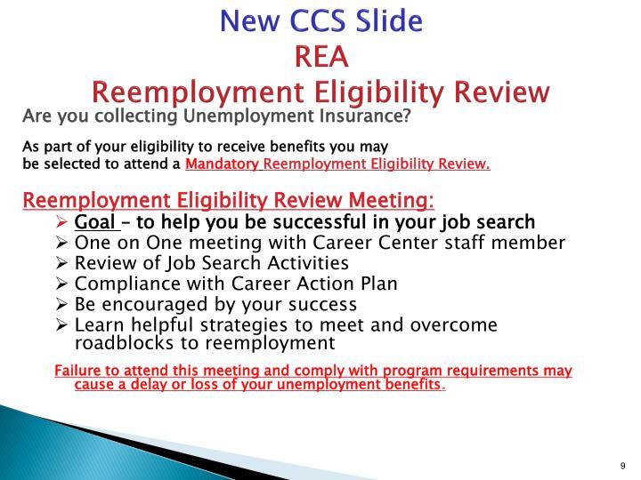 New CCS Slide