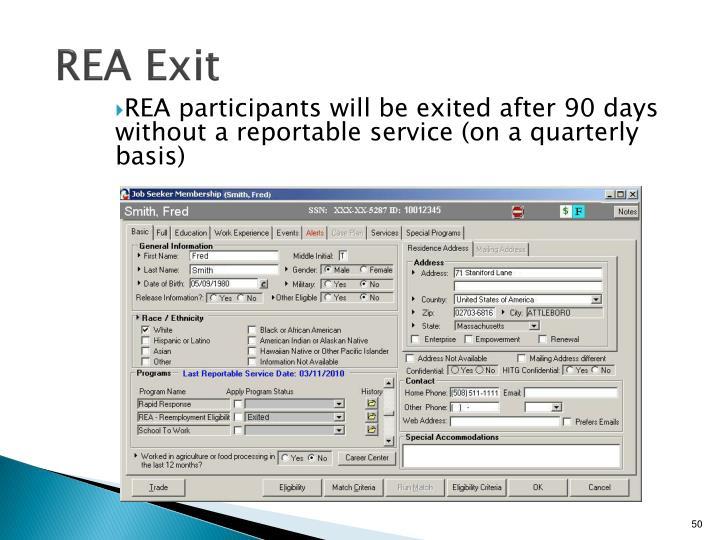 REA Exit